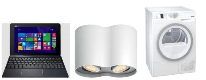 Saturn Online Offers vom Wochenende   z.B. GORENJE 9 kg Wärmepumpentrockner statt 599€ für 489€