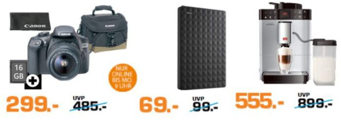 Saturn Super Sunday Deals: u.a. Seagate Expansion Portable 2TB statt 84€ für 69€