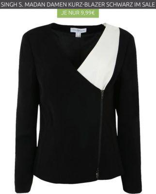 SINGH S. MADAN   Damen Kurz Blazer statt 33€ ab nur 9,99€