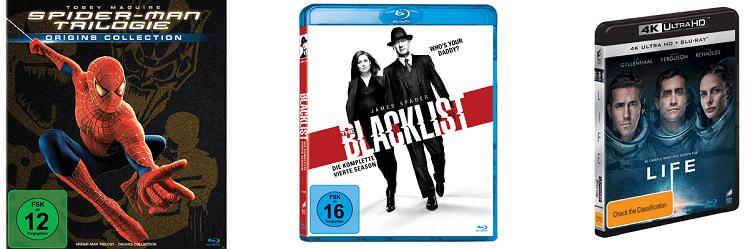 Große Film Aktion: Filme und TV Serien im Wert von 100€ kaufen mit 50€ Sofort Rabatt
