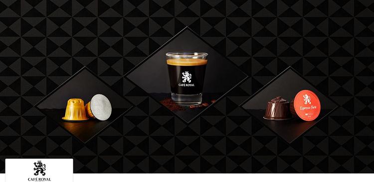 Café Royal   Kaffeekapseln oder Pads bei vente privee   z.B. 100 Espresso Forte Kapseln ab 19,89€