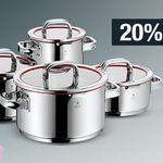 20% Rabatt auf Sportmarken, Herrenjacken, Küchenartikel (WMF) uvm. – Galeria Kaufhof Mondschein Angebote
