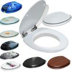 KESSER Toilettensitz mit Absenkautomatik in 5 verschiedenen Designs für 18,90€