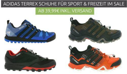 adidas Performance Terrex Herren Trekking und Crosstrail Sneaker Restgrößen ab 39,99€