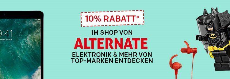 10% Rabatt im Alternate Shop bei Rakuten   z.B. Lego Todesstern für 410,35€ (statt 472€)