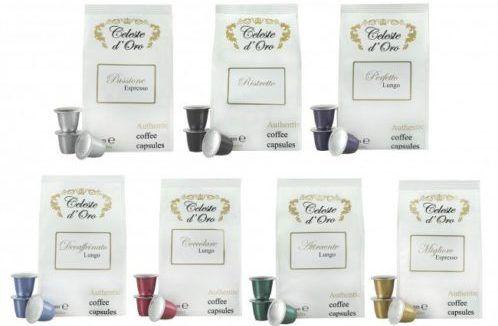 200er Pack Nespresso Kapseln Celeste dOro im Probierpaket für 39,99€