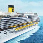 8 Tage an Bord der Costa Diadema inkl. Vollpension, Trinkgelder & Flügen ab 699€ p.P.