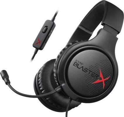CREATIVE Sound BlasterX H3 Gaming Headset für 24,99€ (statt 37€)