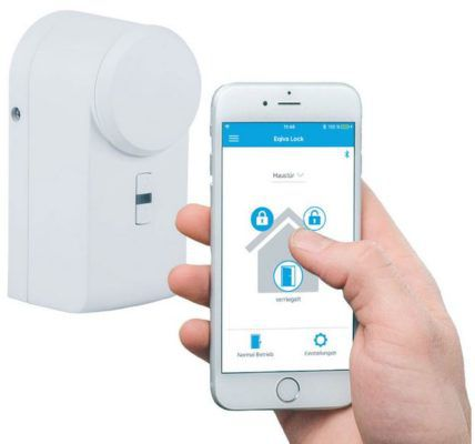 eqiva Bluetooth Smart Türschlossantrieb mit App Steuerung für 49,95€ (statt 61€)