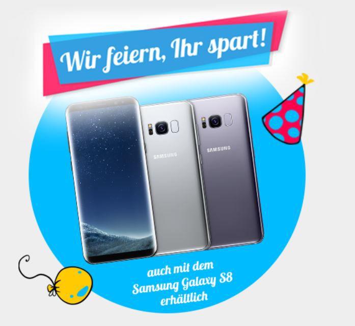 TIPP! Modeo Sommerfestival   günstige Mobil Verträge z.B. Vodafone AllNet +SMS + 2GB Flat mit Samsung S8 für 36,99€ (uvm...)