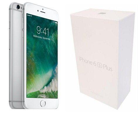 Apple iPhone 6s Plus in silber 16GB für 379,99€ (statt 420€)