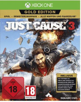 XBox One Game: Just Cause 3 in der Gold Version ab 24,99€