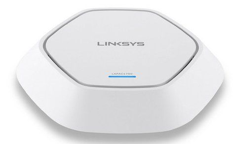 Linksys LAPAC1750   Wi Fi Business Access Point mit Dual Band für 125,90€ (statt 244€)