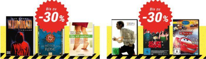 30% Rabatt bei Medimops   günstige Bücher, Filme, Spiele