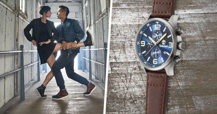 Timberland Uhren mit bis zu  69% Rabatt in der Zalando Lounge   z.B. Timberland Uhr Pinardville für 54,90€ (statt 148€)
