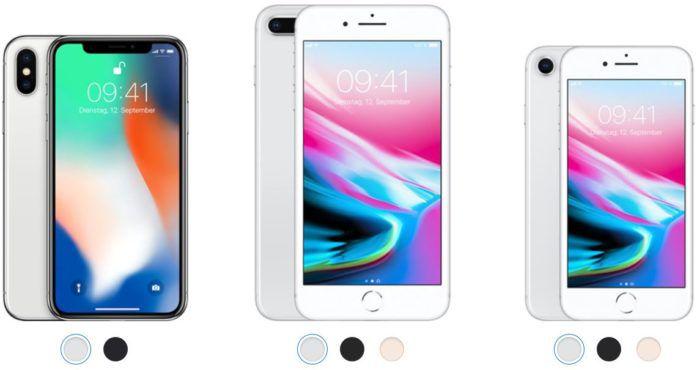 Info! Apple neue Smartphones: iPhone 8 und iPhone X in der Kurzvorstellung