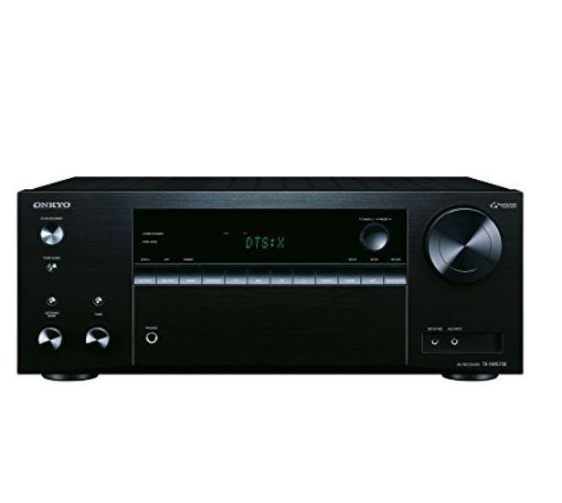 Onkyo TX NR575E   Multiroom fähiger 7.2 Kanal Audio/Video Neztwerk Receiver für 349€