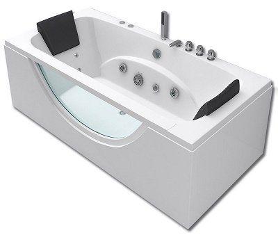 Apollo Whirlpool Badewanne mit 180 x 90 cm für 649,90€ (statt 750€)