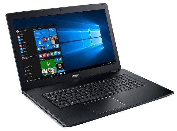 Acer Aspire E 17 E5 774 368Y – 17 Zoll Notebook mit i3 und 256 GB SSD für 539€ (statt 589€)