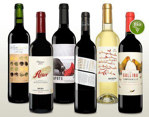 BBQ Weinpaket mit 6 Flaschen Wein für 39,95€ (statt 55€)