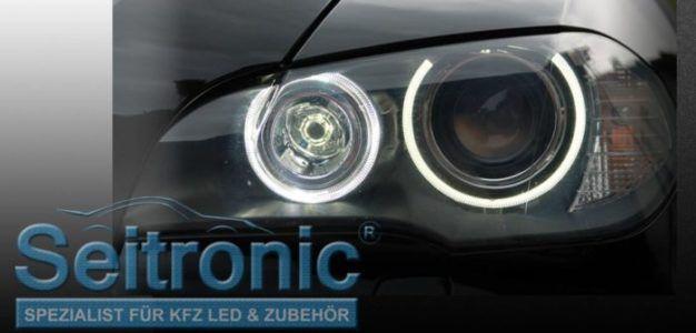 Seitronic Angel Eyes H8 LED Standlicht für viele BMWs für 44,90€