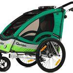 Qeridoo Sportrex1 Kinderfahrradanhänger 2017er Modell für 296,99€ (statt 345€)