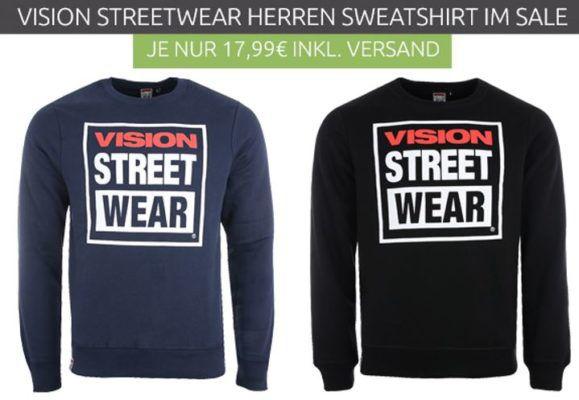 VISION STREET WEAR Herren Hoody für 17,99€