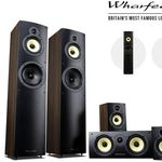 Wharfedale Crystal 4 – 5.0-HiFi-Lautsprecherset für 305,90€ (statt 489€)