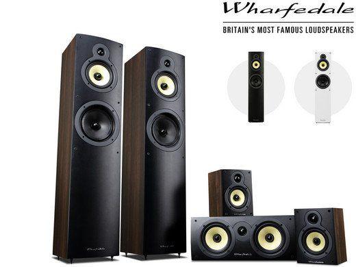 Wharfedale Crystal 4   5.0 HiFi Lautsprecherset für 305,90€ (statt 489€)