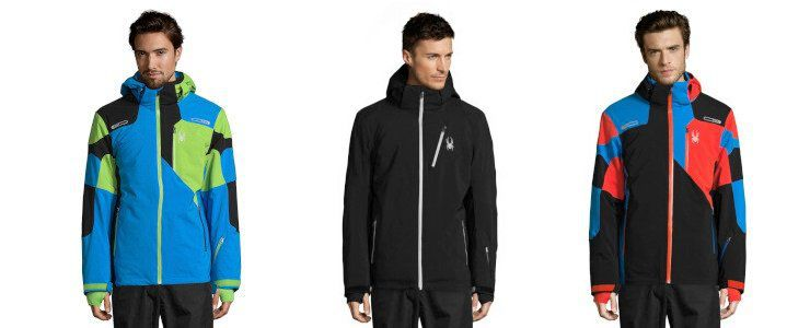 Spyder Sale mit Ski Angeboten bei vente privee   z.B. Steppjacke Geared für 79,99€ (statt 94€)