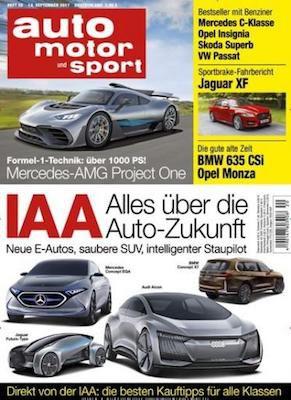 auto motor und sport   Jahresabo für 109,20€ + 105€ Amazon Gutschein oder 100€ Verrechnungsscheck