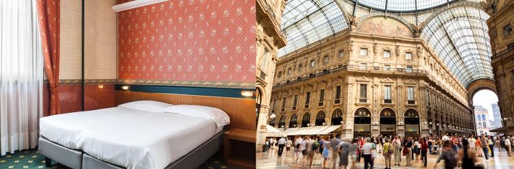 2   4 ÜN im 3* Hotel in Mailand inkl. Flüge und Frühstück ab 129€ p.P.