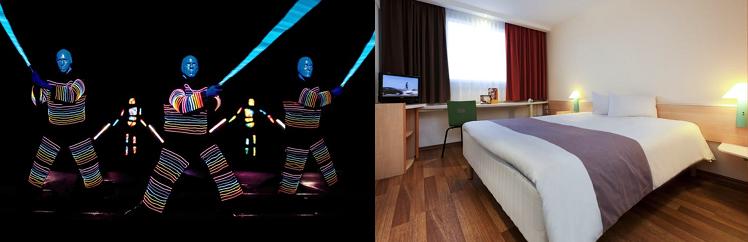 Blue Man Group Ticket + 1   2 Nächte im Berliner 3* Hotel ab 99€ p.P.