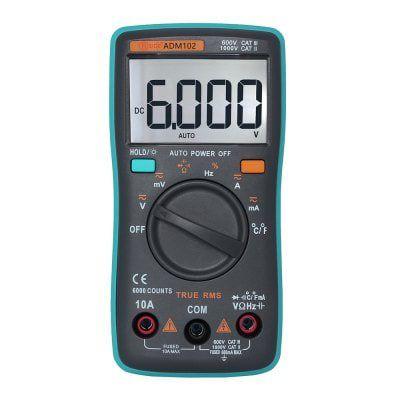 ZT102 Digital Multimeter mit großem Display für 7,50€ (statt 15€)