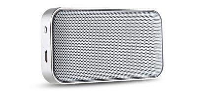 AEC BT   207 Mini Bluetooth Lautsprecher in Weiß für 6,80€