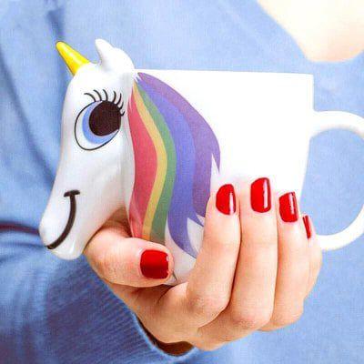 Magische Einhorn Tasse mit Farbwechsel für 6,20€