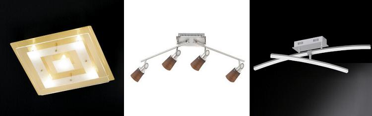 Fischer Leuchten Sale bei Vente Privee   z.B. LED Deckenleuchte Mikado ab 110,90€ (statt 200€)