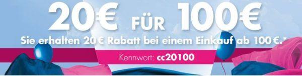 Karstadt Weekend Kracher: 20% Rabatt auf Düfte, ETERNA Hemden, Villeroy & Boch uvam.