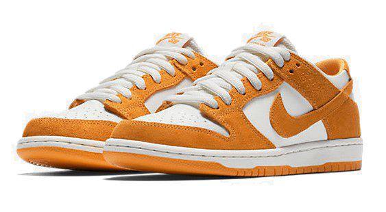 Nike SB Dunk Low Pro Unisex Sneaker in Orange für 49,85€ (statt 66€)
