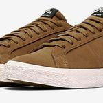 Nike SB Blazer Low Herren Sneaker in Golden Beige für 47,23€ (statt 62€)