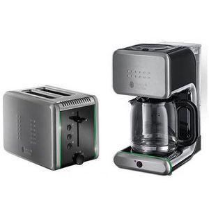 Russell Hobbs Ilumina Set aus Kaffeemaschine & Toaster für 60,12€ (statt ~120€)