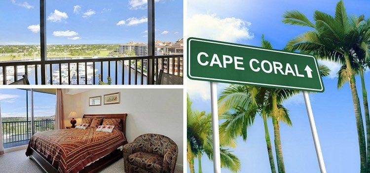 7 ÜN in Florida (Cape Coral) in Luxus Apartment direkt am Yacht Hafen mit Pool & Tennisplatz für 4 Personen für 165€ p.P.