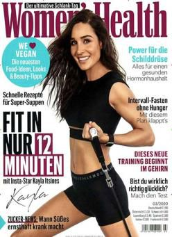 Womens Health Jahresabo für 29€ inkl. 20€ Amazon Gutschein