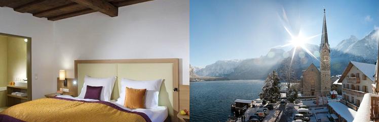 3, 4 o. 6 ÜN im 4* Hotel in Hallstatt inkl. Halbpension, Saunanutzung, Skibusshuttle, uvm. ab 129€ p.P.
