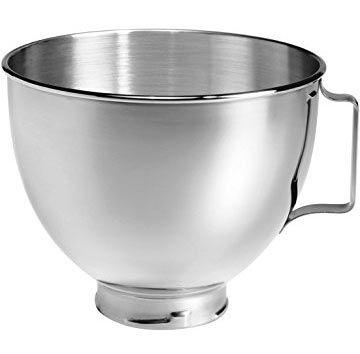KitchenAid (K45SBWH) 4,2 Liter Edelstahlschüssel für 35,90€ (statt 63€)