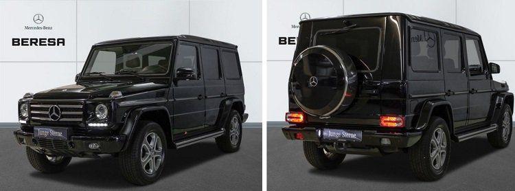 Mercedes Benz G350 d Leasingwagen für 18 Monate für 712,81€ mtl. (nur Gewerbekunden)