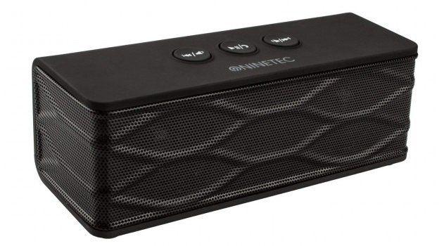 NINETEC POWERBLASTER   mobiler Speaker mit 2.600mAh Powerbank für 13,39€