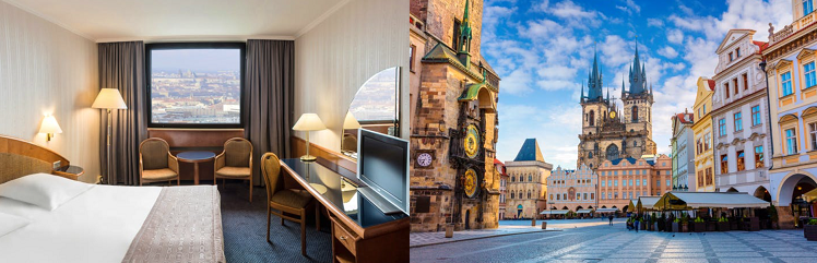 2   5 ÜN im 4* Hotel in Prag inkl. Frühstück und Spa ab 79€ p.P.