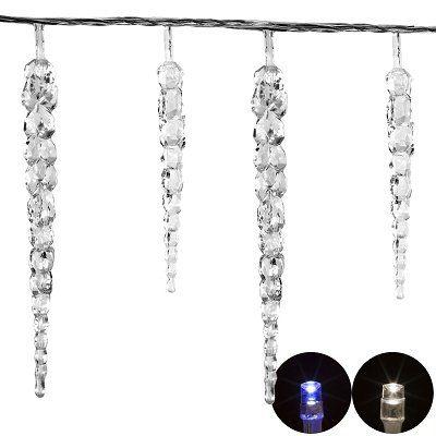 Voltronic LED Lichterkette im Eiszapfendesign für 12,99€