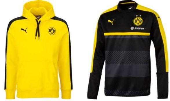 Puma BVB Jacken und Sweater für 24,99€   z.B. BVB Hoody (statt 30€)